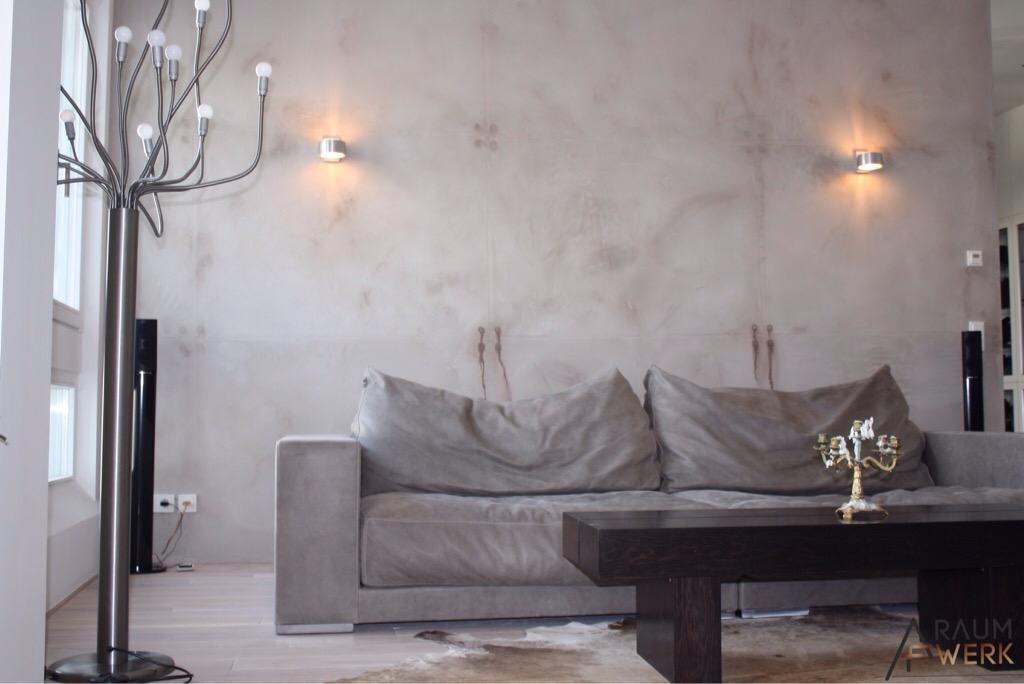 wandgestaltung i die beton wand dein raumwerk. Black Bedroom Furniture Sets. Home Design Ideas